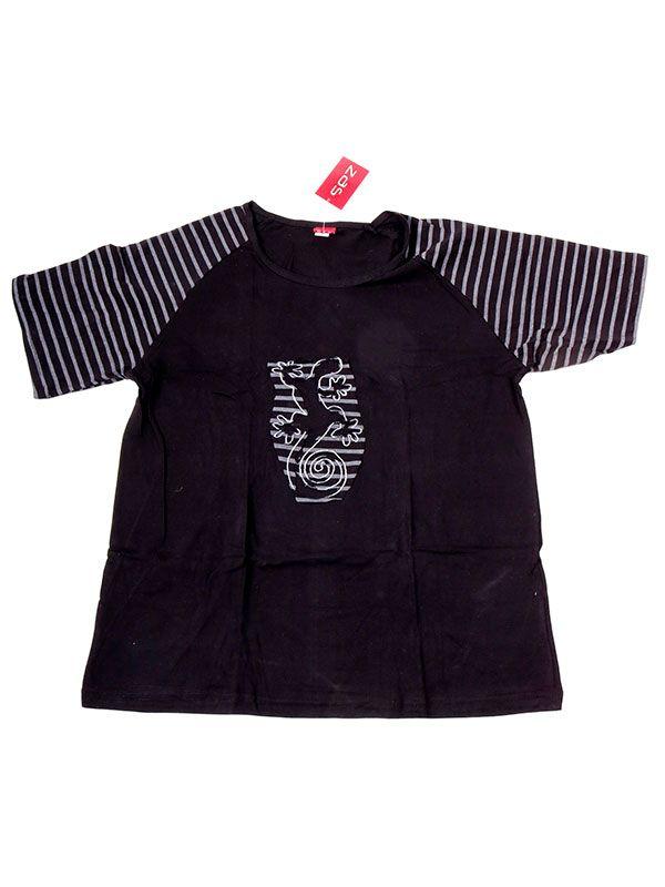 Camisetas T-Shirts - Camiseta de manga corta con CMEV13 - Modelo Negro