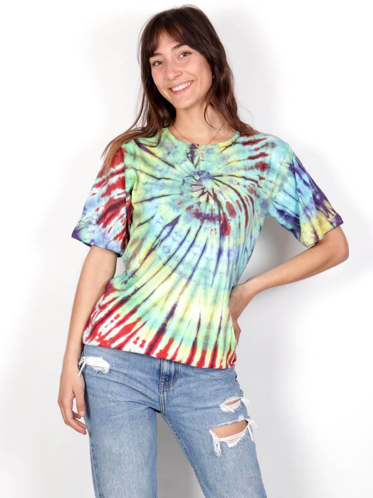 Camiseta Tie Dye Mujer [CMHC11] para comprar al por Mayor o Detalle en la categoría de Camisetas Blusas y Tops