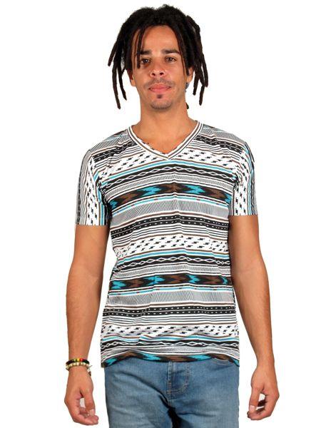 Camiseta estampados étnicos, camiseta tshirt 100% algodón con estampados Comprar - Venta Mayorista y detalle