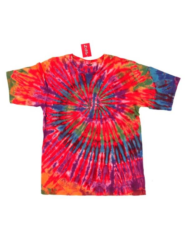 Camseta hippie Tie Dye Espiral - Rojo Comprar al mayor o detalle