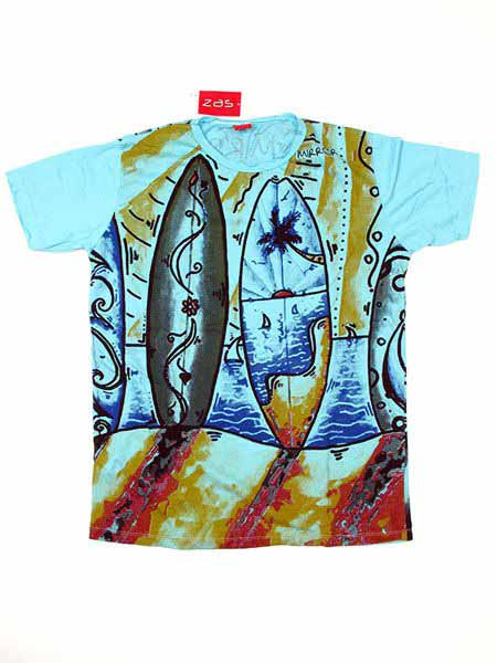 Camiseta Mirror Surf y olas para Comprar al mayor o detalle