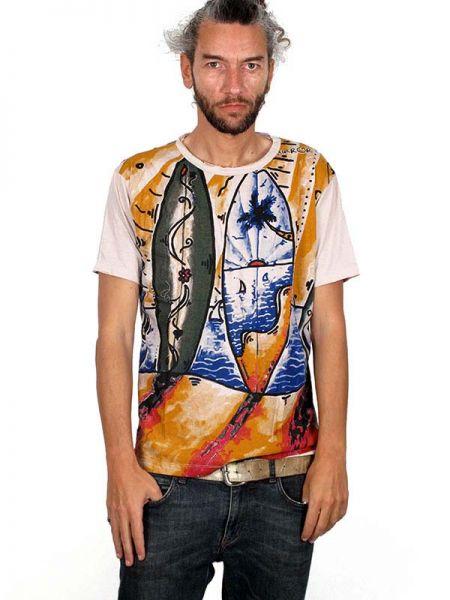 Camiseta Mirror Surf y olas - Detalle Comprar al mayor o detalle