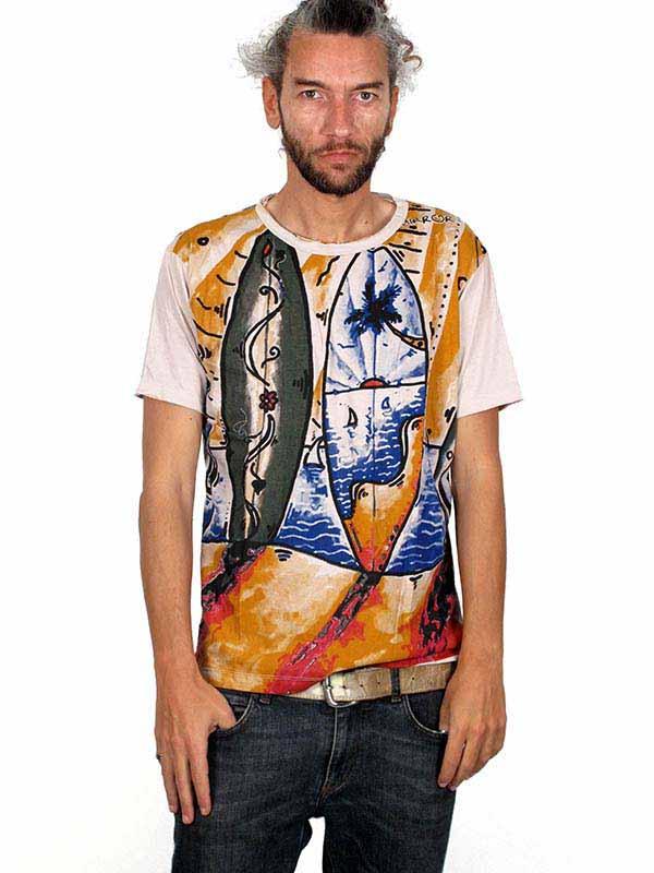 Camiseta Mirror Surf y olas CMMI11 para comprar al por mayor o detalle  en la categoría de Ropa Hippie Alternativa para Hombre.