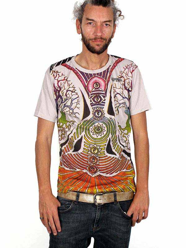 Camiseta Mirror Buda Meditación [CMMI12] para Comprar al mayor o detalle