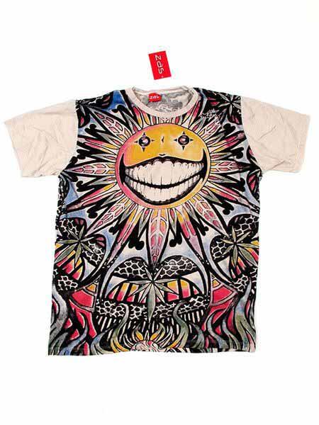 Camiseta 100% algodón de manga corta, con estampado total diseño Comprar - Venta Mayorista y detalle