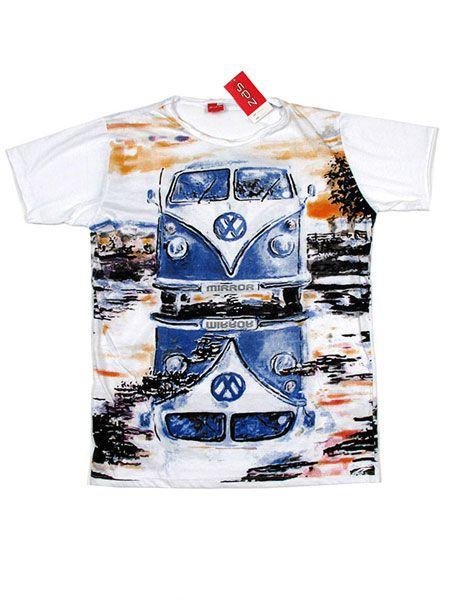 Camiseta Mirror VW Bus para Comprar al mayor o detalle