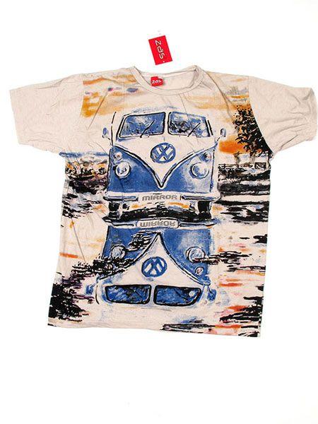 Camiseta Mirror VW Bus CMMI16 para comprar al por mayor o detalle  en la categoría de Ropa Hippie Alternativa para Hombre.