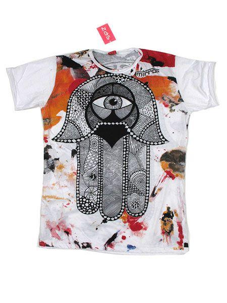 Camiseta Mirror Mano de Fátima - Comprar al Mayor o Detalle