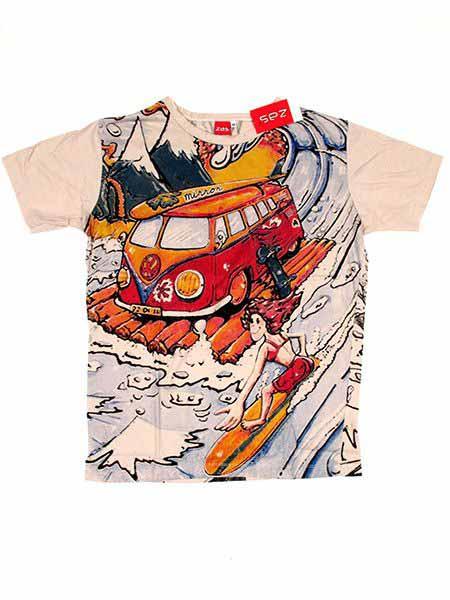 Camiseta Mirror Volks Skate Surf CMMI20 para comprar al por mayor o detalle  en la categoría de Ropa Hippie Alternativa para Hombre.
