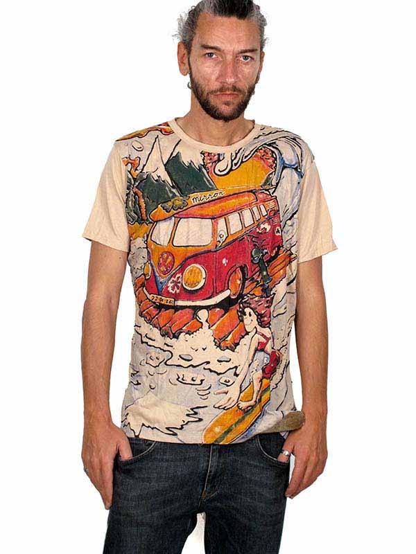 Camiseta Mirror Volks Skate Surf Comprar - Venta Mayorista y detalle