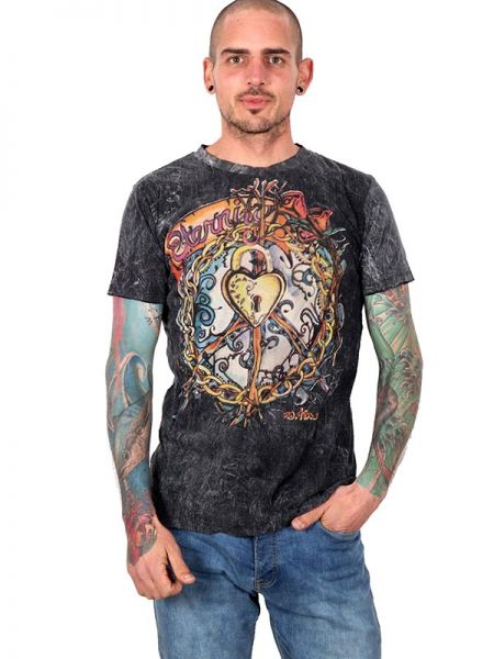Camiseta No Time Locked Hearth Tatoo Comprar - Venta Mayorista y detalle