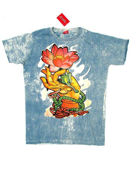 Camiseta No Time Mano oriental Loto para Comprar al mayor o detalle