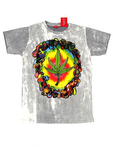 Camiseta No Time Marihuana Hippie para Comprar al mayor o detalle