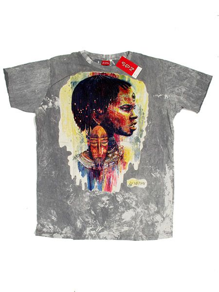 Camiseta NoTime Africa Dream - Gris Comprar al mayor o detalle