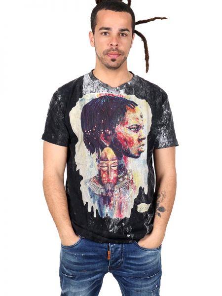 Camiseta NoTime Africa Dream CMNT09 para comprar al por mayor o detalle  en la categoría de Ropa Hippie Alternativa para Hombre.