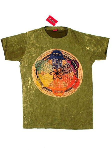 Camiseta NoTime Mano de Fátima Mandala para Comprar al mayor o detalle