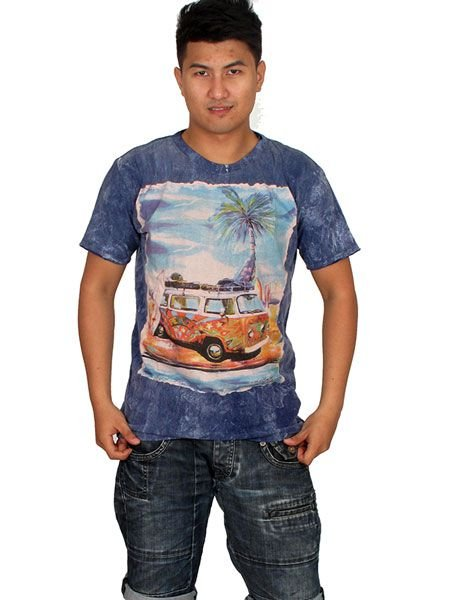 Camiseta NoTime VW Bus in the Paradise Comprar - Venta Mayorista y detalle