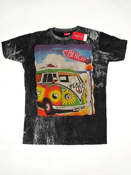 Camiseta NoTime VW Bus Beach para Comprar al mayor o detalle