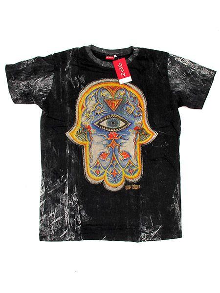 Camiseta 100% algodón lavada a la piedra de manga corta, con Comprar - Venta Mayorista y detalle