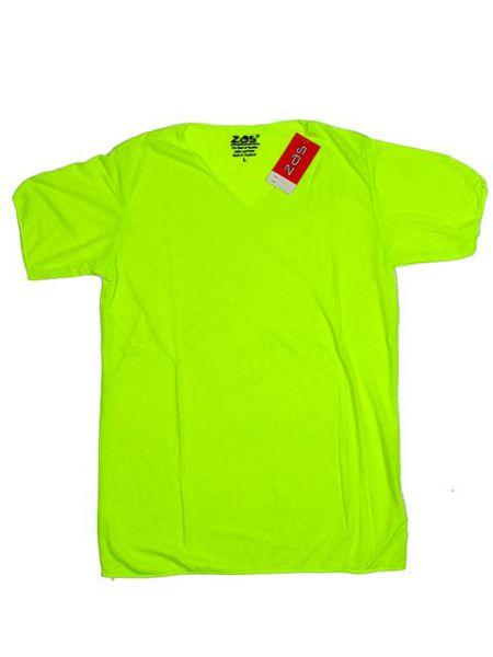Camiseta colores fluor chico. camiseta 100% algodón en colores básicos Comprar - Venta Mayorista y detalle