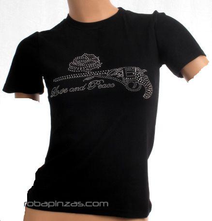 Camiseta chica de brillantes. Talla única. Comprar - Venta Mayorista y detalle
