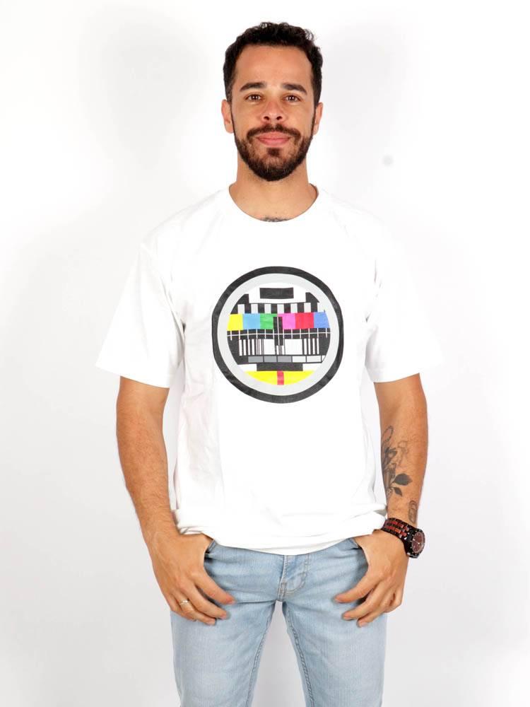 Camiseta Carta de Ajuste, algodón CMSE02 para comprar al por mayor o detalle  en la categoría de Ropa Hippie Alternativa para Hombre.