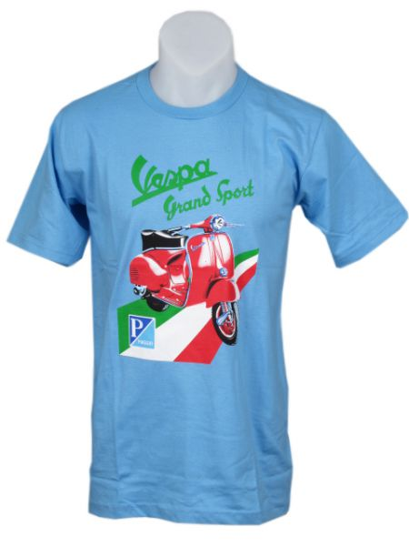 Camiseta VESPA PIAGGIO, algodón [CMSE09] para Comprar al mayor o detalle