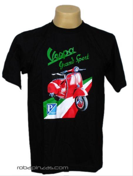 Camiseta VESPA PIAGGIO, algodón para Comprar al mayor o detalle