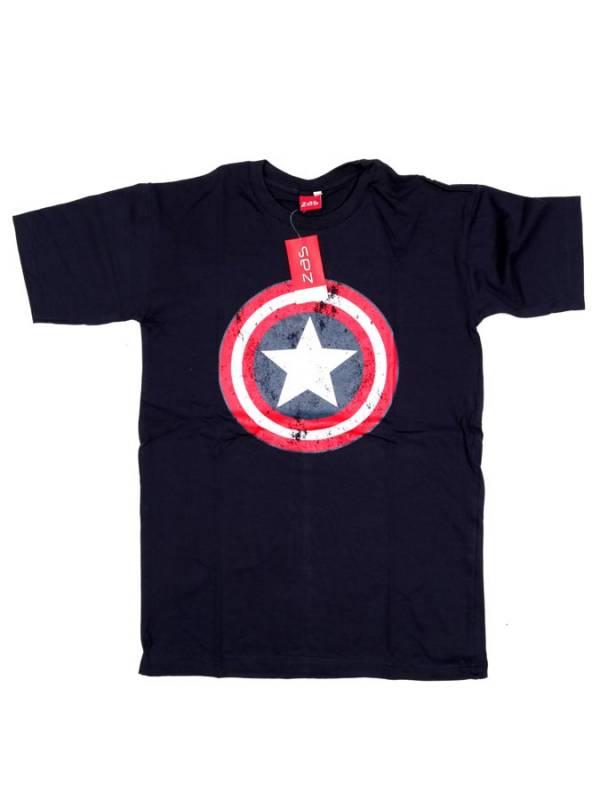 Camiseta Capitán América - Azul Comprar al mayor o detalle