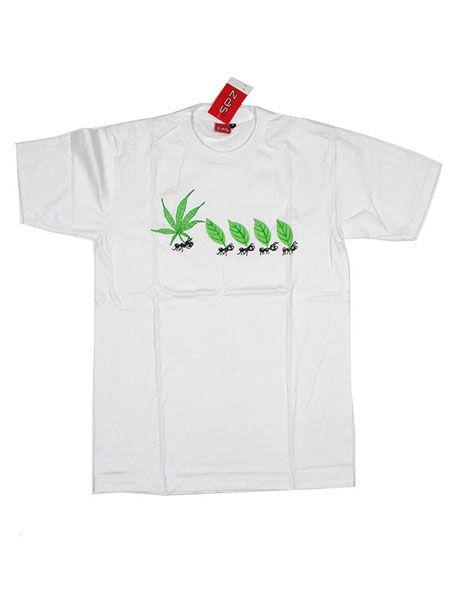Camiseta Marihuana Ants [CMSE30] para Comprar al mayor o detalle
