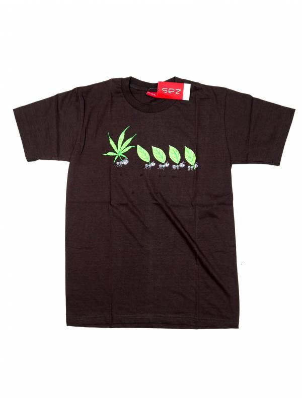 Camiseta Marihuana Ants - Gris Comprar al mayor o detalle