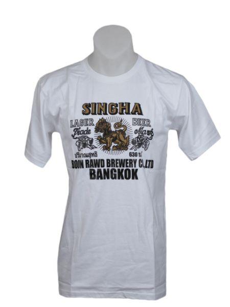 Camiseta Shingha beer, de algodón y manga corta para Comprar al mayor o detalle