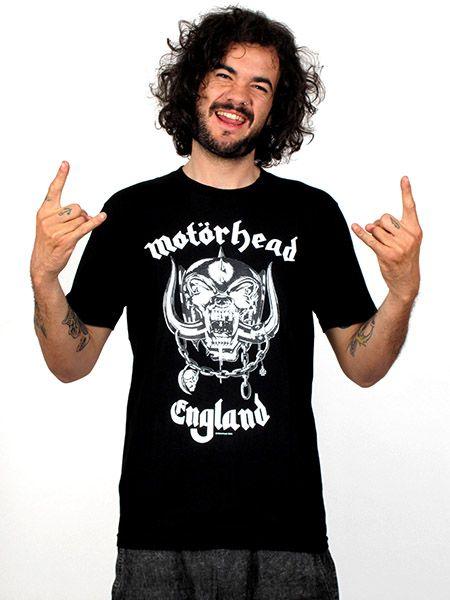 Camisetas T shirts - Camseta motor head clásica [CMSE41] para comprar al por mayor o detalle  en la categoría de Ropa Hippie Alternativa para Hombre.