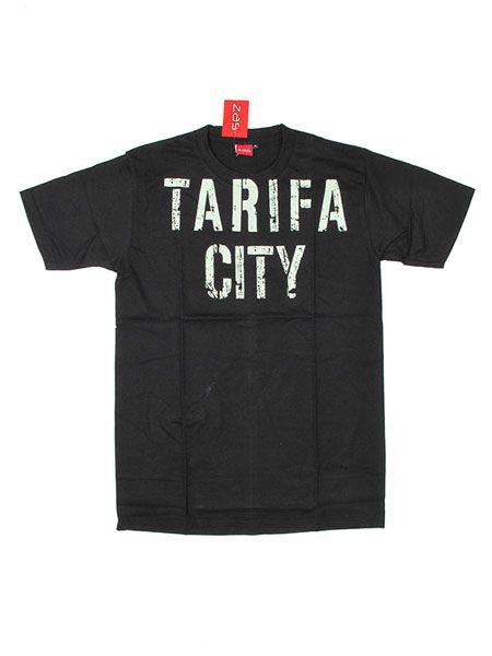Camiseta Tarifa City - Negro Comprar al mayor o detalle