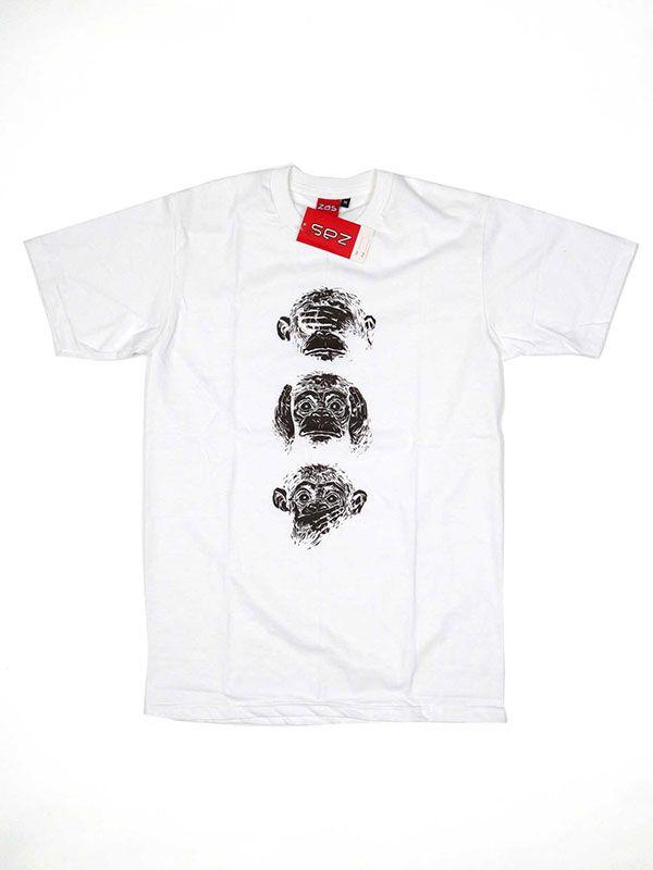 Camiseta Music Monky Sense CMSE48 para comprar al por mayor o detalle  en la categoría de Ropa Hippie Étnica para Chicos.