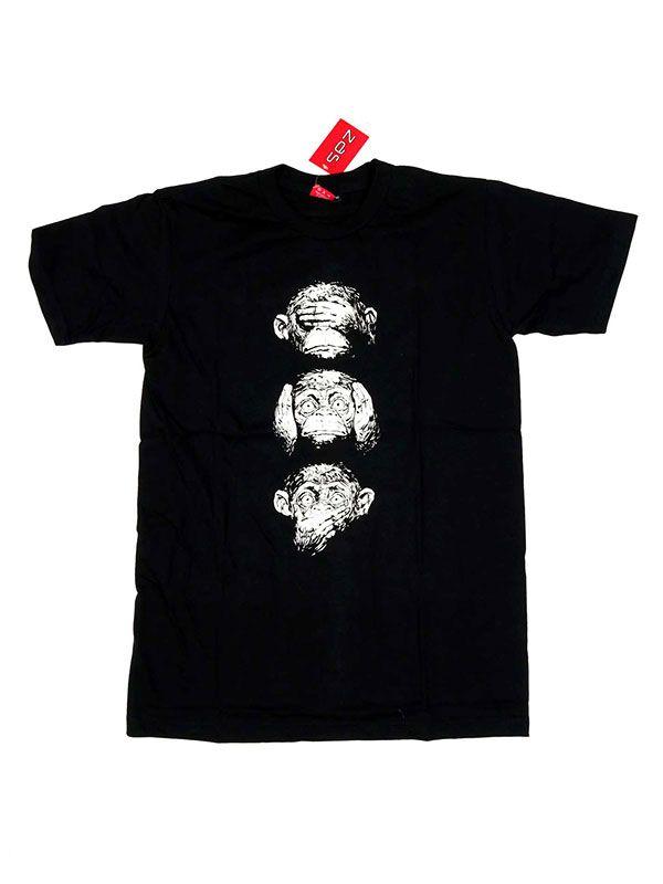Camisetas T-Shirts - Camiseta Music Monky Sense CMSE48 para comprar al por Mayor o Detalle en la categoría de Ropa Hippie Alternativa para Hombre
