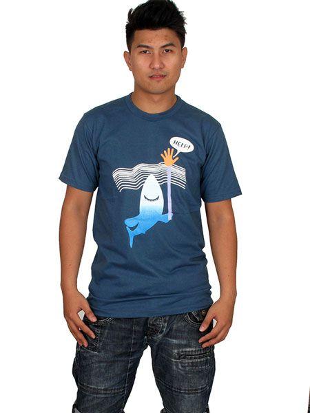 Camiseta Help Shark Comprar - Venta Mayorista y detalle