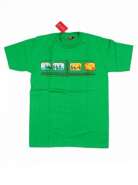 Camiseta zombi train CMSE57 para comprar al por mayor o detalle  en la categoría de Ropa Hippie Alternativa para Hombre.