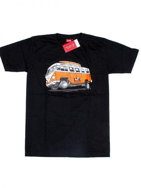 Camiseta de manga corta de algodón estampado VW LA Algodón Comprar - Venta Mayorista y detalle