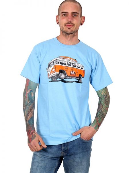 Camiseta vw la - Detalle Comprar al mayor o detalle