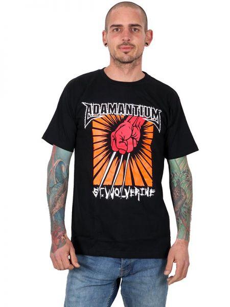 Camisetas T shirts - Camiseta Adamantium [CMSE66] para comprar al por mayor o detalle  en la categoría de Ropa Hippie Alternativa para Hombre.