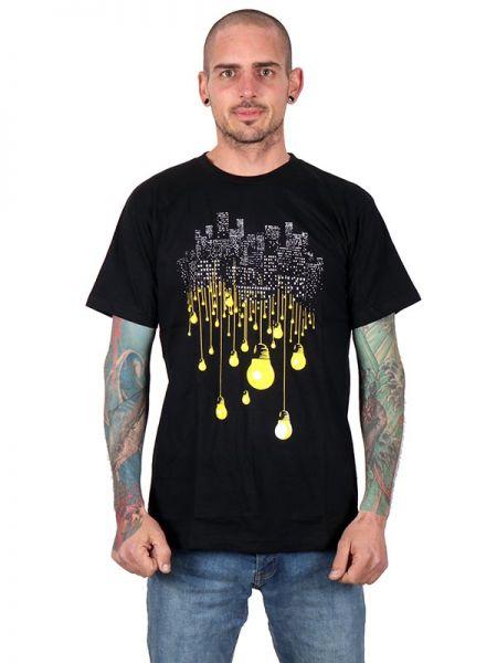 Camisetas T-Shirts - Camiseta Sky Lights [CMSE67] para comprar al por mayor o detalle  en la categoría de Ropa Hippie Alternativa para Hombre.