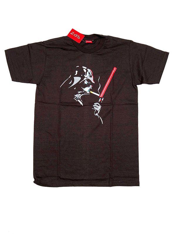 Camisetas T shirts - Camiseta Darth Vader Smoke [CMSE68] para comprar al por mayor o detalle  en la categoría de Ropa Hippie Alternativa para Hombre.