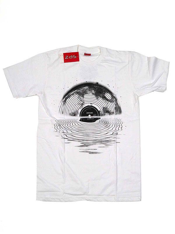 Camisetas T shirts - Camiseta Vinilo waves [CMSE69] para comprar al por mayor o detalle.