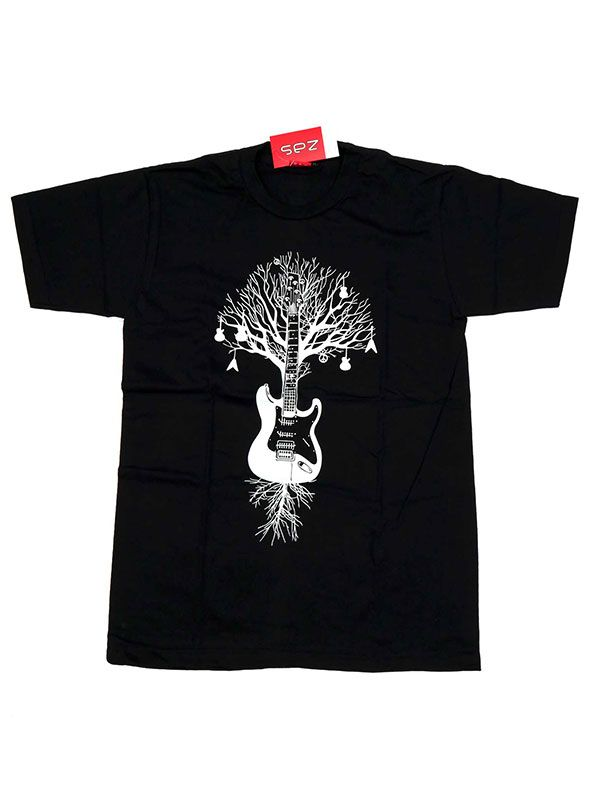 Camiseta Guitar Tree Roots [CMSE70] para Comprar al mayor o detalle