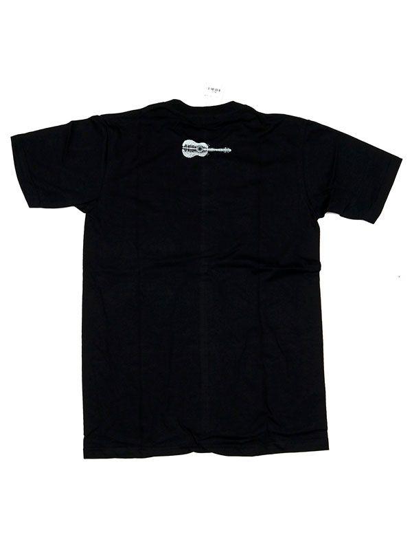 Camiseta Guitar Forest Sunset - Detalle Comprar al mayor o detalle