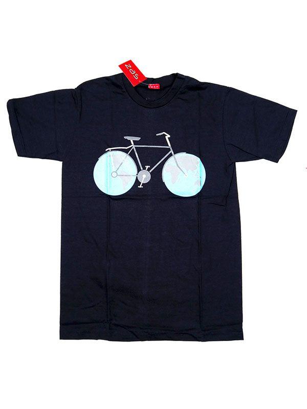 Camiseta Bicicle World [CMSE74] para Comprar al mayor o detalle