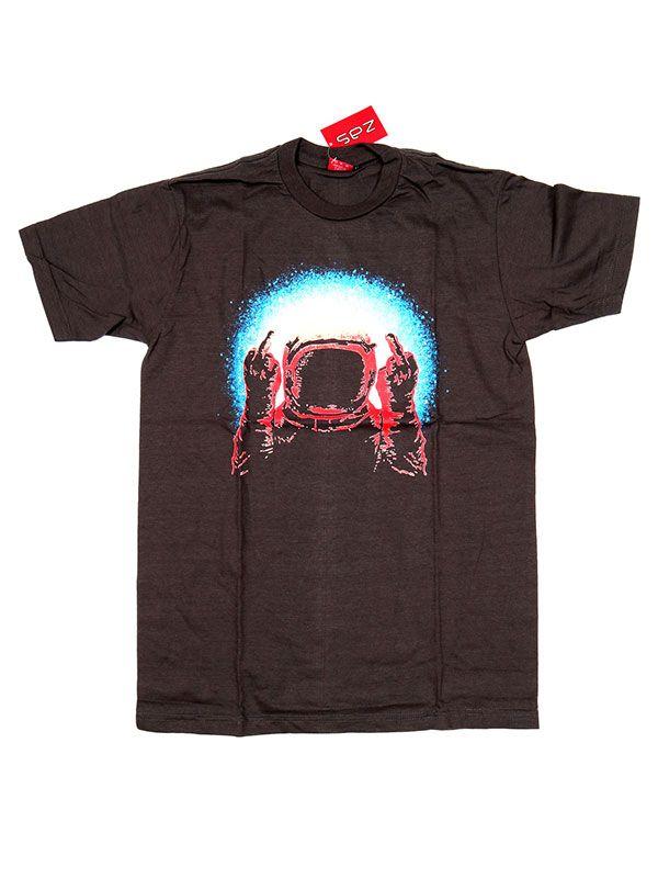 Camisetas T shirts - Camiseta Fuck u Astronaut [CMSE75] para comprar al por mayor o detalle  en la categoría de Ropa Hippie Alternativa para Hombre.