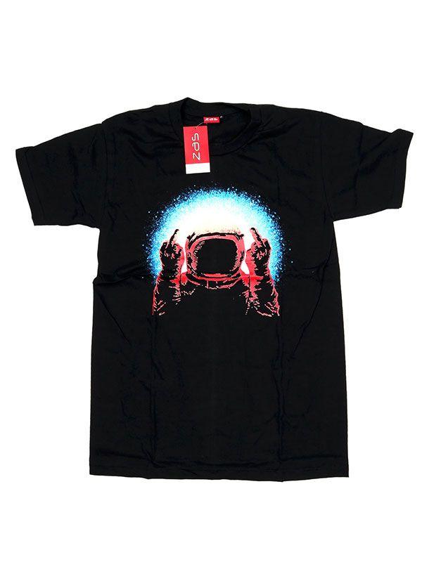 Camisetas T shirts - Camiseta Fuck u Astronaut [CMSE75] para comprar al por mayor o detalle  en la categoría de Ropa Hippie Étnica para Chicos.