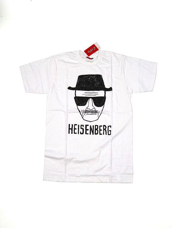 Camisetas T shirts - Camiseta Heisenberg [CMSE77] para comprar al por mayor o detalle  en la categoría de Ropa Hippie Étnica para Chicos.